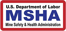 US Department of Labor MSHA logo